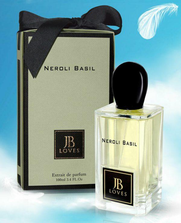 JB Loves Fragrances Neroli Basil 100ml by My Perfumes for women for men arabic perfume perfume spray perfume bottle