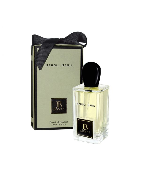 Arabic JB Loves Fragrances Neroli Basil Perfume by My Perfumes 100ml EDP Arabian Spray Arabic Fragrance Unisex Men Women Sweet Fresh Musky