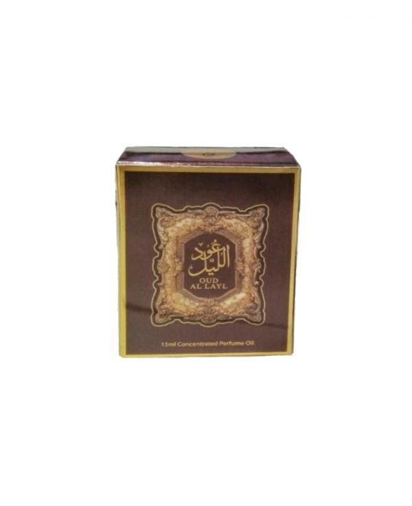 Oud Al Layal Perfume Oil 15ml Concentrated fragrance By My Perfumes Arabian Arabic Unisex Women Men Citrus Spicy Floral Vanilla Amber