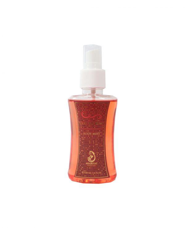 oud wa rose perfume gift set 100ml arabiyat by my perfumes for women for men arabic perfume perfume spray perfume bottle