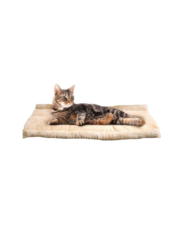 Cosy 2 In 1 Warm Igloo Pet Bed For Cat Kitten Dog Puppy Plush Cave Mat Snug Portable