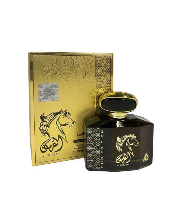 Al Fursan Oud Edition 100ml By Lattafa for women for men arabic perfume perfume spray perfume bottle