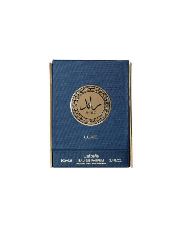 Lattafa Ra'ed Luxe Perfume 100ml Arabic Arabian Fragrance Natural Spray Unisex Women Men Scent Amber Musky Vanilla