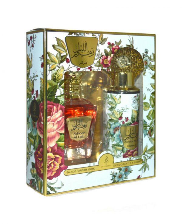 Zahoor Al Lali Intense Perfume gift Set By My perfumes for women for men arabic perfume perfume spray perfume bottle