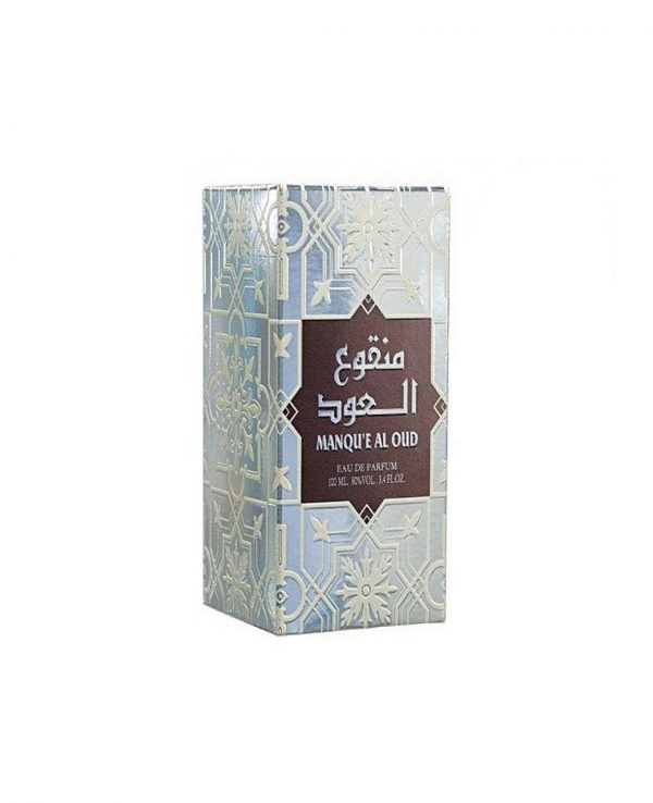 Manqu'e Al Oud Perfume 100ML By Lattafa for women for men arabic arabian perfume perfume spray perfume bottle
