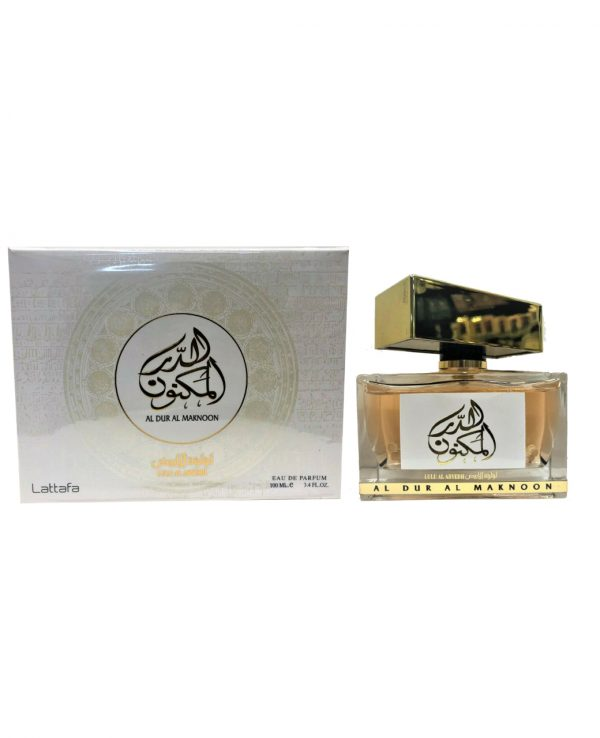 Al Dur Al Maknoon 100ml By Lattafa for women for men arabic perfume perfume spray perfume bottle arabian perfume in uk