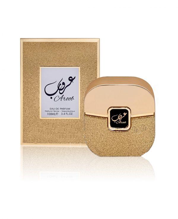 Aroob 100ml by Ard Al Zaafaran for women for men arabic perfume perfume spray perfume bottle