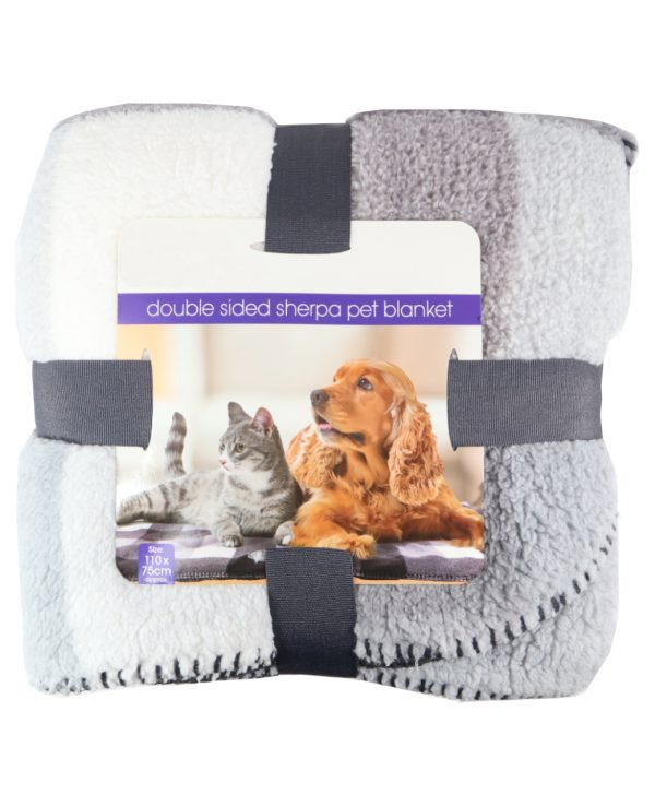 double sided sherpa pet dog cat blanket for dogs for cats for sheep for washable pet blanket pet bed cover animal for bed blanket