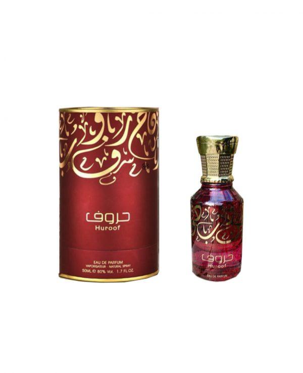Huroof Perfume 50ml by Ard Al Zaafaran for women for men arabic perfume perfume spray perfume bottle