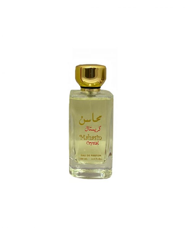 Mahasin Crystal 100ml By Lattafa for women for men arabic perfume perfume spray perfume bottle arabian perfume in uk