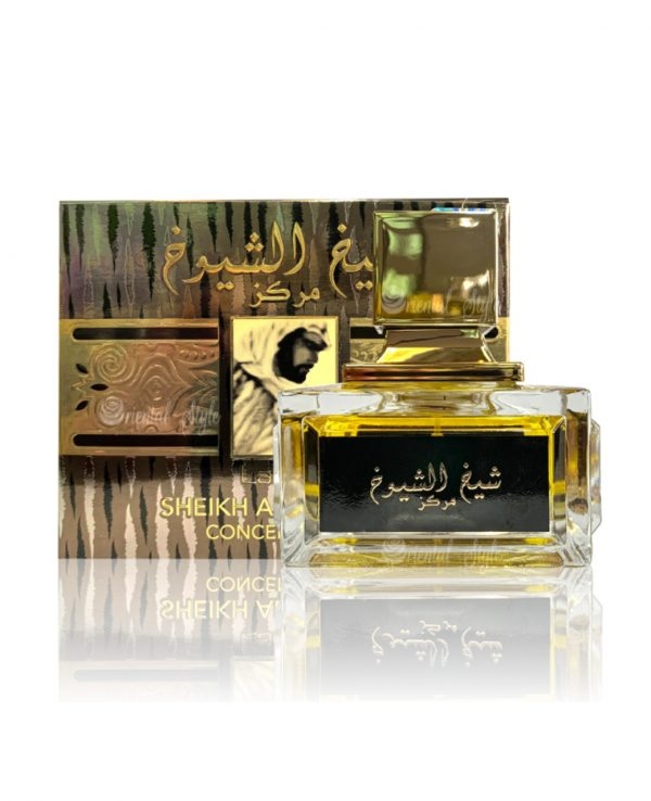Sheikh Shuyukh Concentrated 100ml By Lattafa for women for men arabic perfume perfume spray perfume bottle