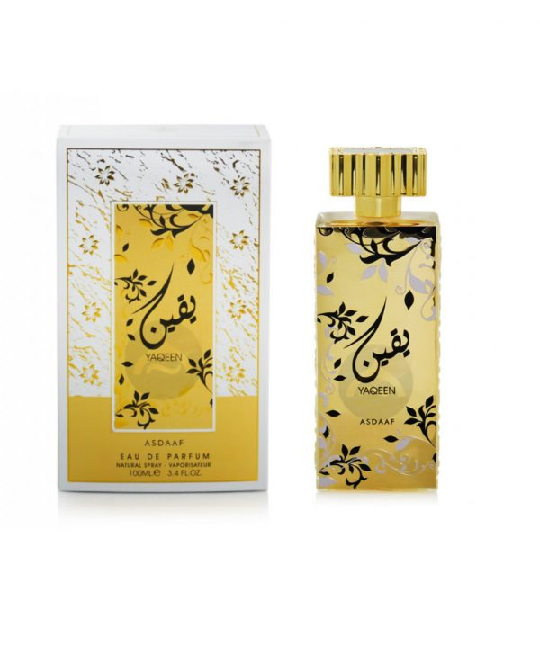 Yaqeen Perfume 100ml By Asdaaf for women for men arabic perfume perfume spray perfume bottle arabian perfume in uk
