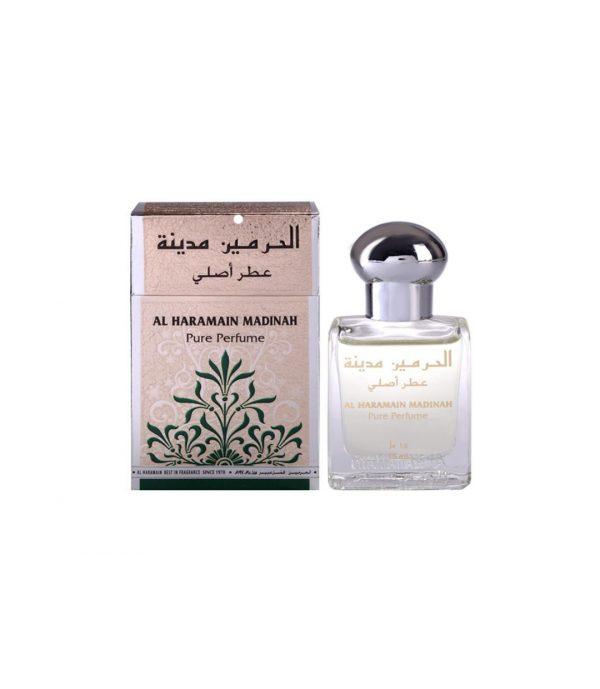 Madinah perfume attar oil by Haramain unisex perfume arabian fragrance perfume for women