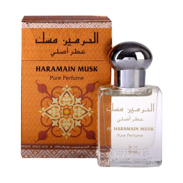 musk perfume attar oil by Haramain unisex perfume arabian fragrance perfume for women