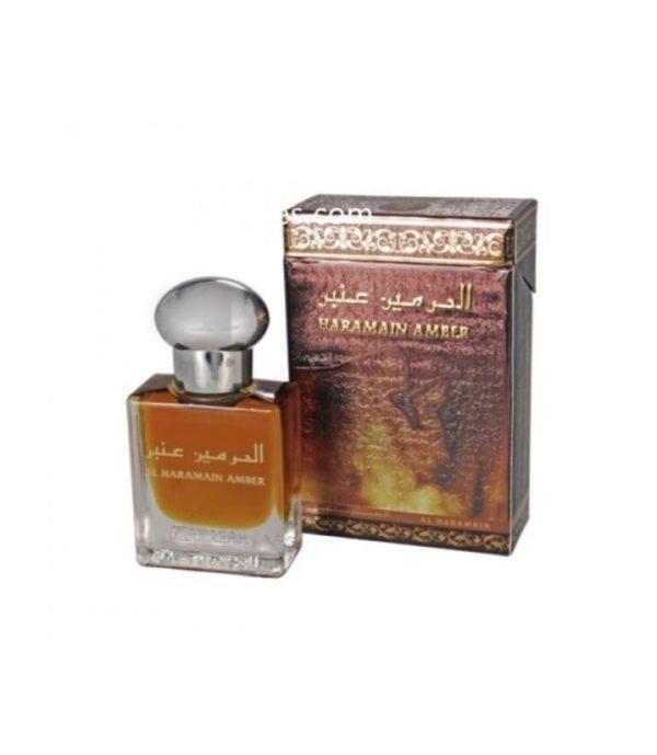 Amber perfume attar oil by Haramain unisex perfume arabian fragrance perfume for women