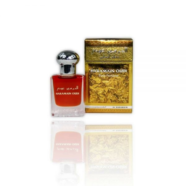 Oudi perfume attar oil by Haramain unisex perfume arabian fragrance perfume for women