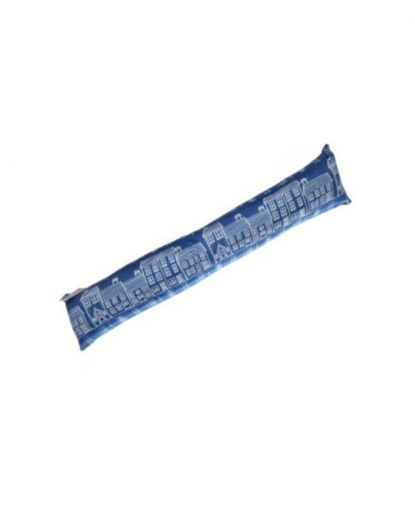 Blue excluder door soft stop draught excluder for home for door animal door stopper