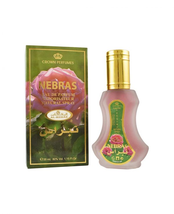 Nebras perfume spray by al rehab for women Arabic Arabian fragrance women perfume best arabian perfume in uk
