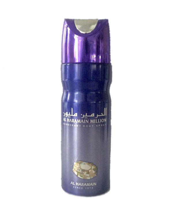 million al haramain deodorant body spray arabian fragrance in the uk arabic body spray