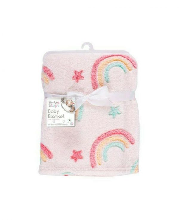 rainbow baby blanket for babies warm soft bed blanket for baby