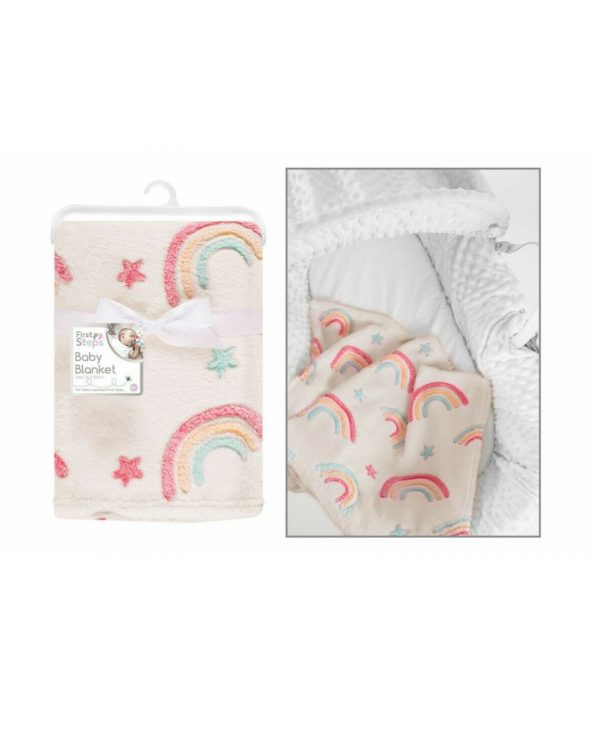 rainbow baby blanket for babies warm soft bed blanket for baby for boy for girl