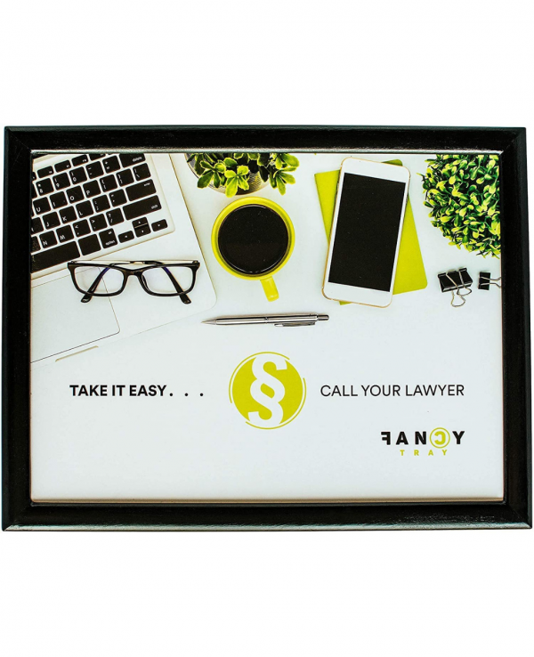 e&a take it easy & call your lawyer lap tray 1